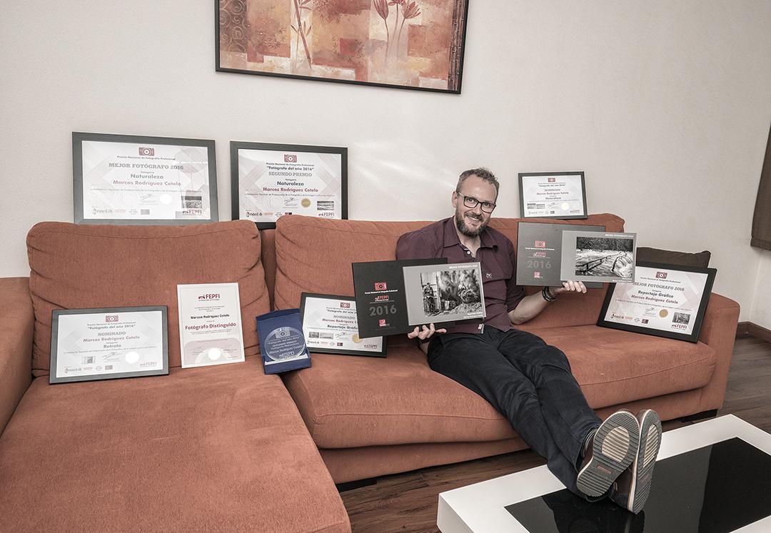 Marcos Rodríguez premios de fotografía