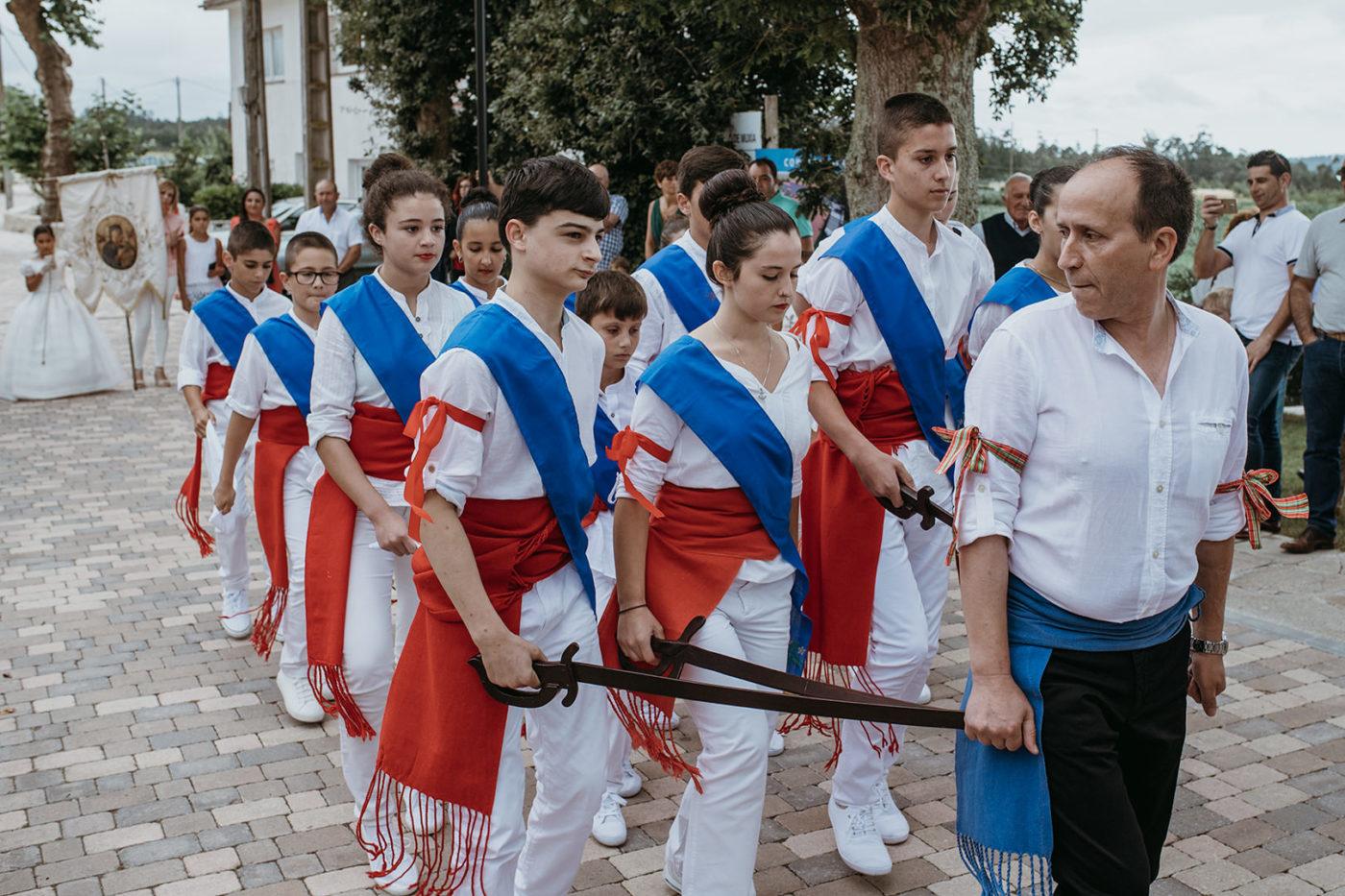 danza de espadas fotografía por Marcos Rodríguez